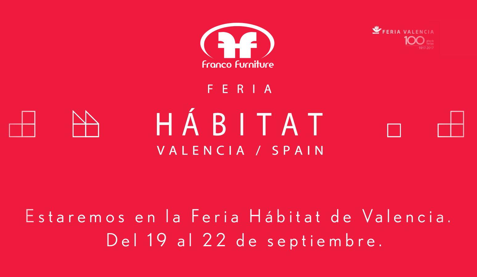 Feria Habitat Valencia 2017 Franco Furniture