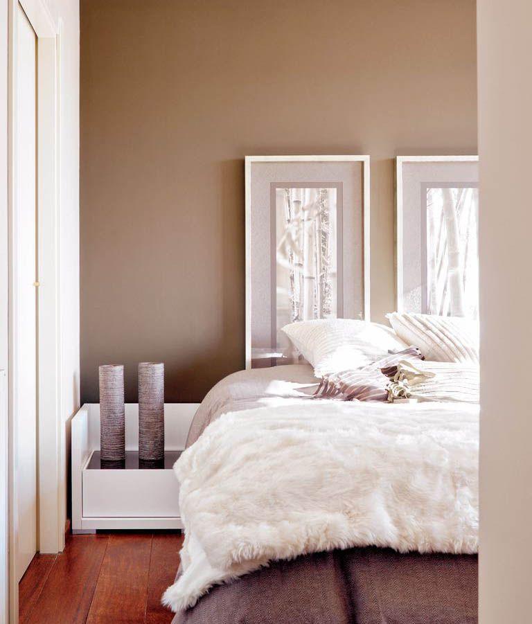 Colores para dormitorio Tostados