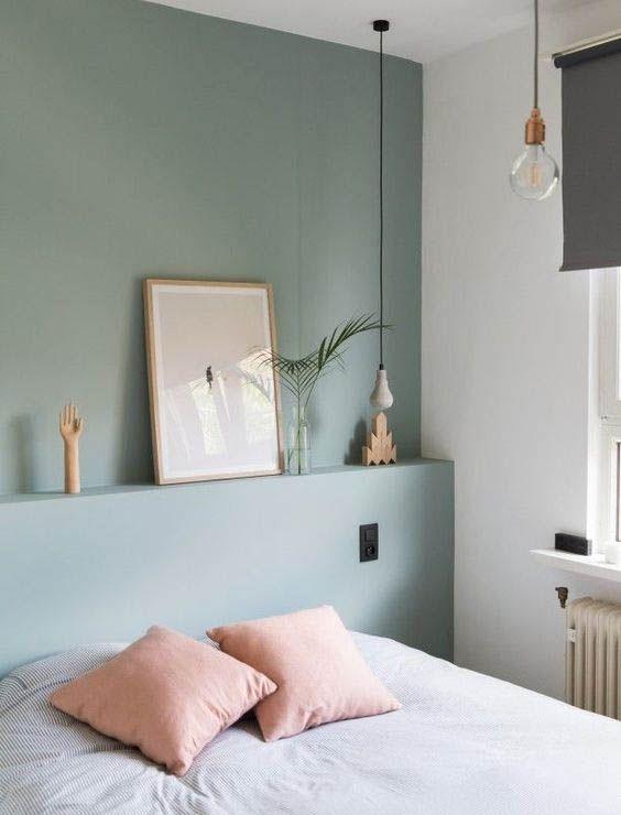 Colores para dormitorio Verde salvia